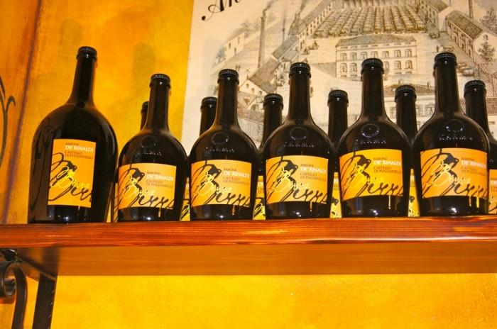 Bottiglie di birra de' Rinaldi